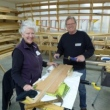 Canoe Paddle Making Class at Museum March 3 & 4, 2017